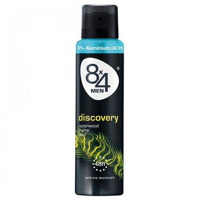 Deo Spray 8x4 Discovery for Men 150 ml