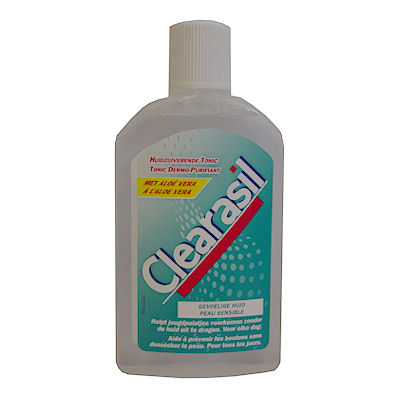 Clearasil huidzuiverende tonic 150 ml.