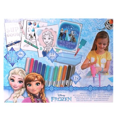 Disney Frozen spraypen set 21 delig