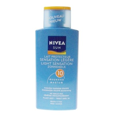 Nivea Sun zonnemelk factor 10 200 ml Light Sensation