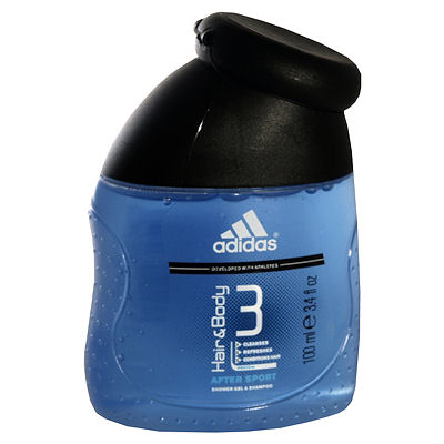 Adidas hair en body after sport 100 ml