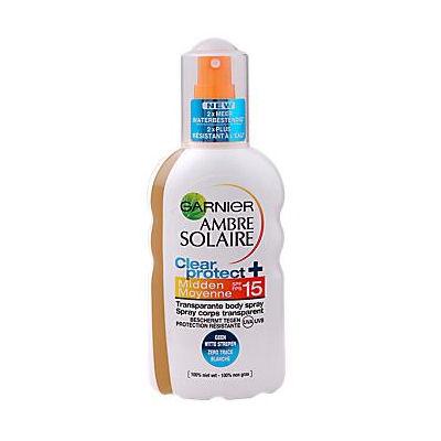 Garnier ambre solaire zonnebrand spray factor 15 200 ml