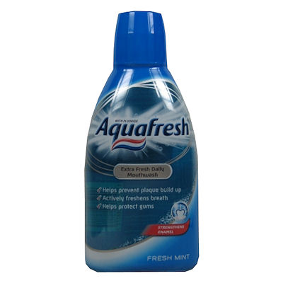 Aquafresh mondspoeling fresh mint 600 ml