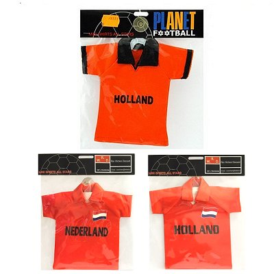 Auto mini shirt oranje Holland