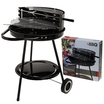 Barbecue mit Roller 43 cm