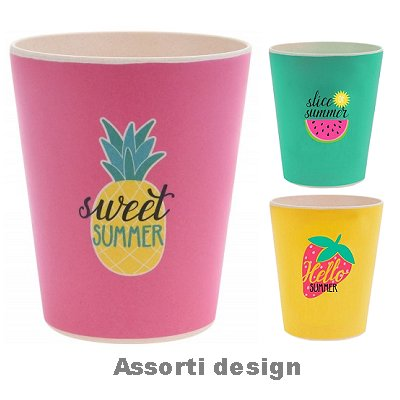 Becher Bambus Sweet Summer