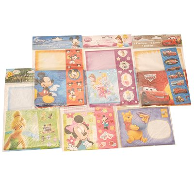 Disney Briefpapier Set 8 Tlg