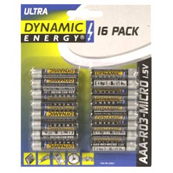 Batterie R3 AAA Dynamic Energy 16 St.