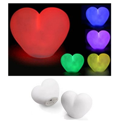 Led hart lamp colorchanging