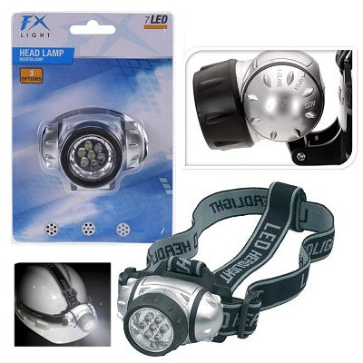 Stirnlampe 7 leds headlight
