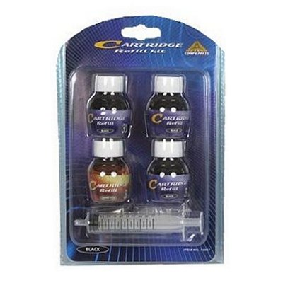 Cartridge inkt navul set zwart 5 dlg