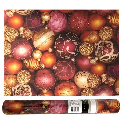 Kerst placemat airlaid kerstbal 12 st.