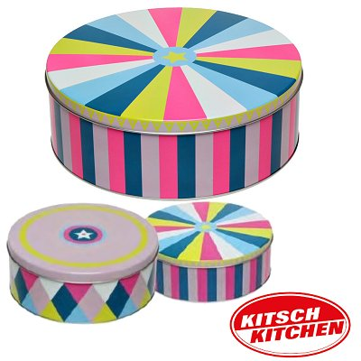 Koekblik Circus Kitsch Kitchen 2 dlg