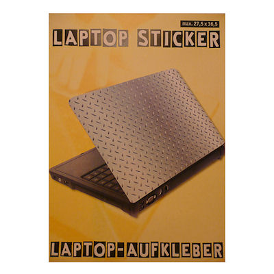 Laptopsticker ijzer