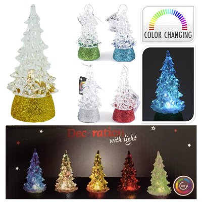 Mini kerstboom colorchanging led licht