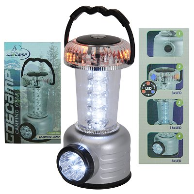 Led outdoor lamp 4 in 1 met kompas