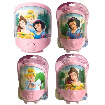 Magic nachtlamp Disney Princess