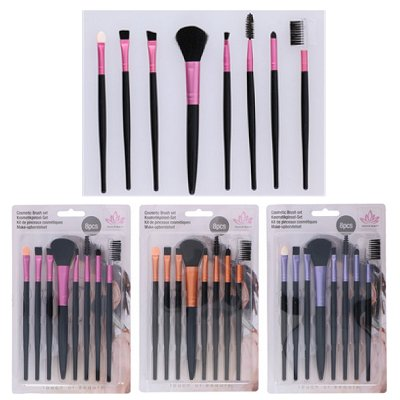 Make-up kwasten set 8 st.