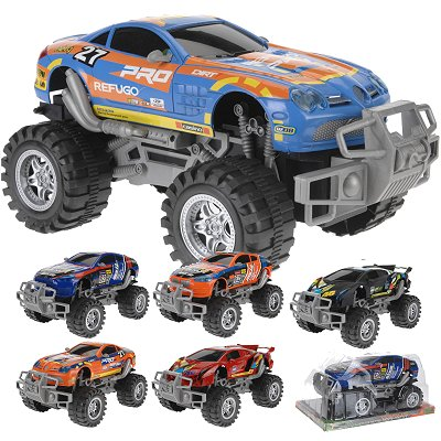 Mega Monstertruck groot 31 cm