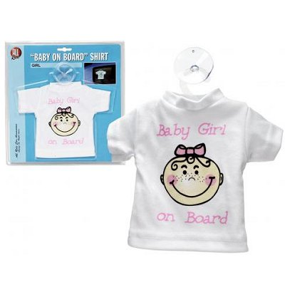 Auto t-shirt meisje Baby on Board Girl