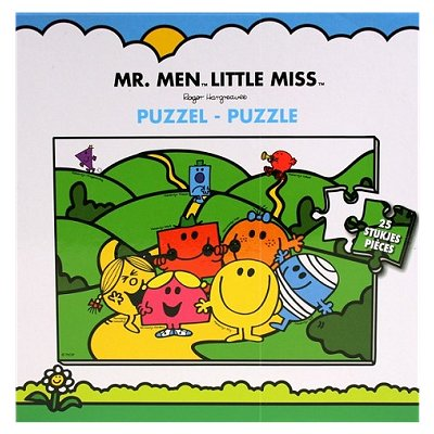 Puzzel Mr Men Little Miss 25 dlg