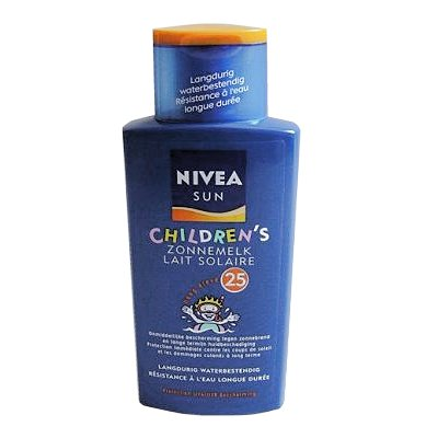 Nivea Sun zonnebrand factor 25 Kids 200 ml.