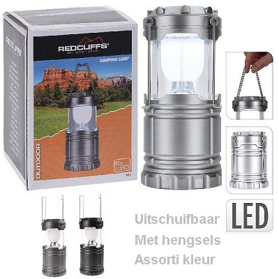 Led outdoor campinglamp Redcliffs