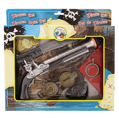 Piratenpistool set 9 dlg