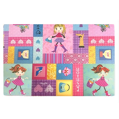 Placemat kind meisjes Fashiongirl