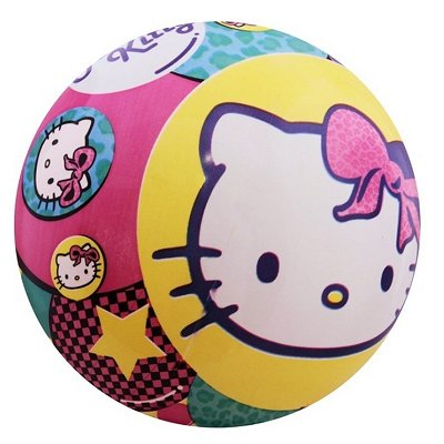 Ball Plastik Hello Kitty 20 cm