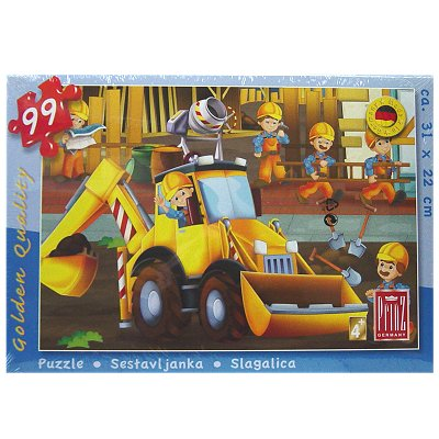 Puzzel kind Bouwer 99 dlg