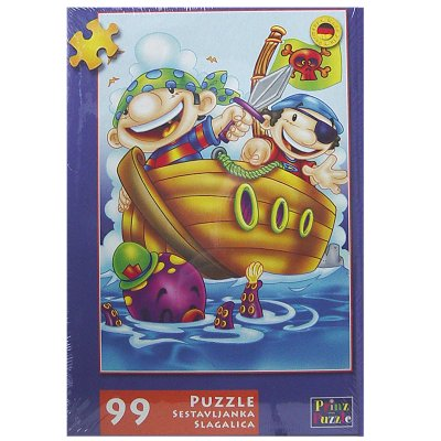 Legpuzzel kind piratenboot 99 dlg