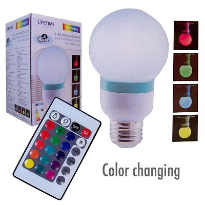 Led sfeerlamp gloeilamp colorchanging