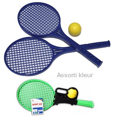 Soft Tennisracket set 3 dlg