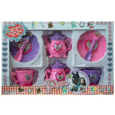 Kinder theeservies Pippa Horse 8 dlg