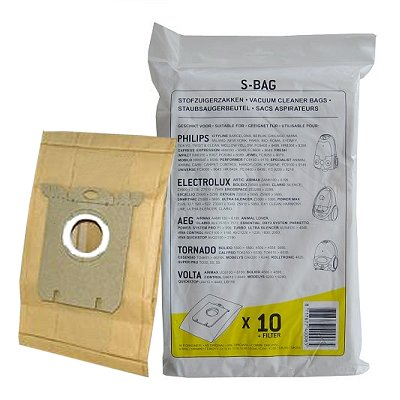 Staubsaugersack Philips S-Bag 10 St