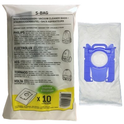 Stofzuigerzak Philips S-bag intense filtration 10 st