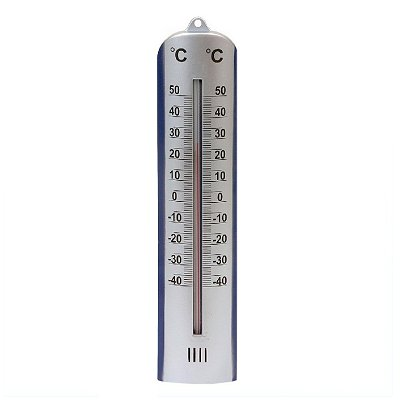 Thermometer zilver