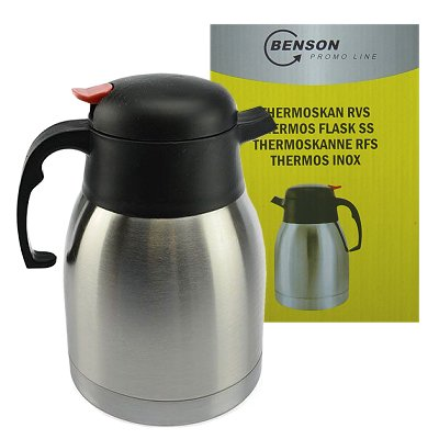 Thermoskan rvs 1 liter