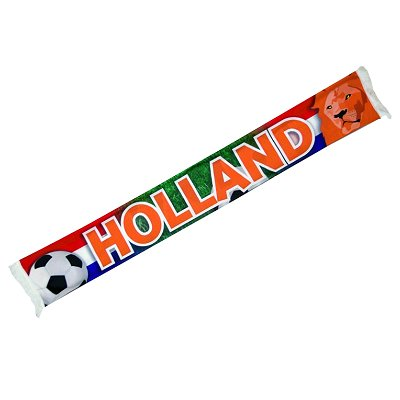 Fussball schal Orange Holland